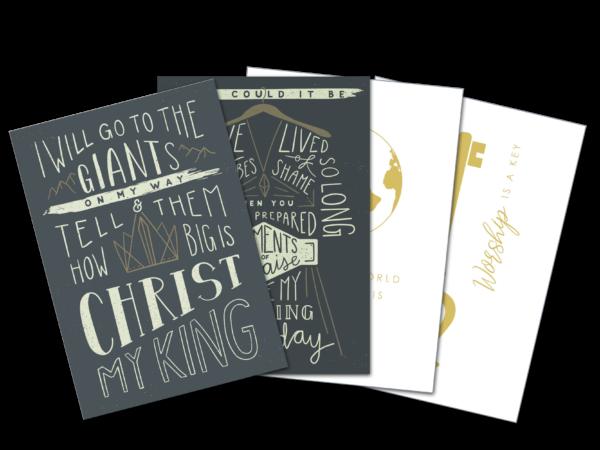 Postkarten 4er Set